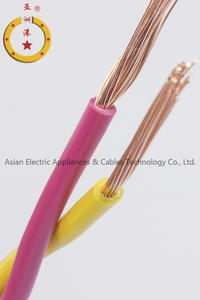 Copper core PVC insulated connection Fexible cable (RVS)